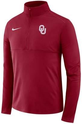 Nike Men's Oklahoma Sooners Element 1/2-Zip Pullover Top