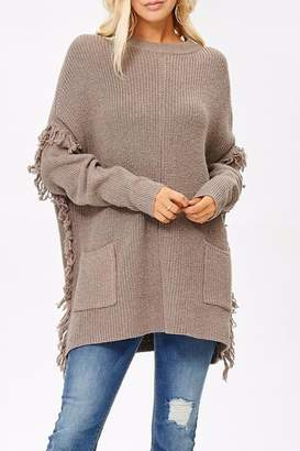 People Outfitter Ella's Long Sweater