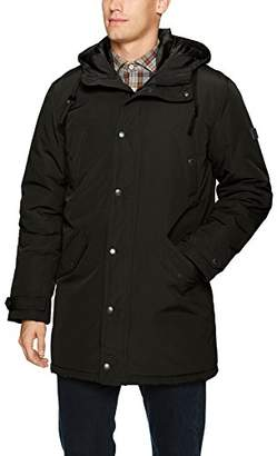 Ben Sherman Men's Long Parka Jacket