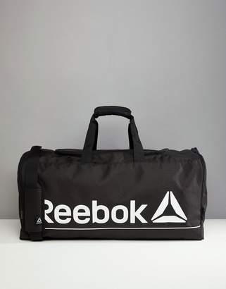 Reebok Gym Bag In Black