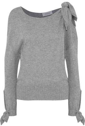 Derek Lam 10 Crosby Knotted Mélange Cashmere Sweater