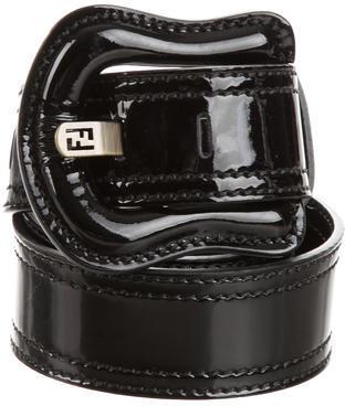 FendiFendi Patent Leather Buckle Belt