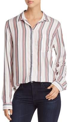 BeachLunchLounge Striped Button-Down Shirt