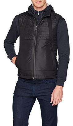 BOSS Men's Vado Outdoor Gilet, (Black 001), X-Large