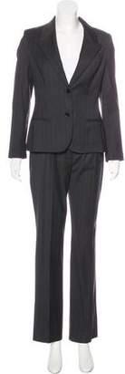 Dolce & Gabbana Wool-Blend Pinstripe Pantsuit w/ Tags