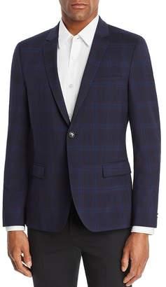 HUGO Arti Plaid Slim Fit Sport Coat