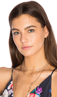 Kendra Scott Emelina Lariat Choker in Metallic Gold. $125 thestylecure.com