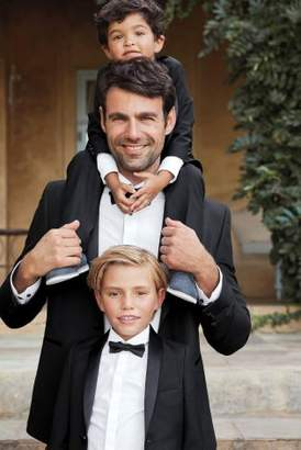 Next Boys Black Tuxedo Jacket (3-16yrs)