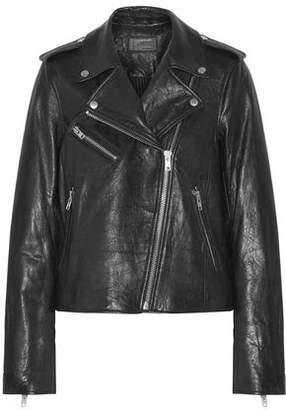 Current/Elliott The Roadside Leather Biker Jacket