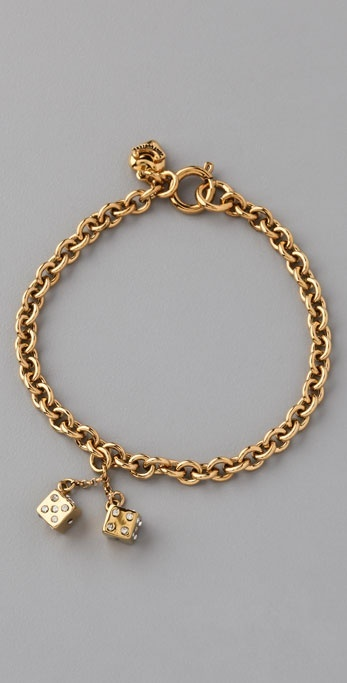 Juicy Couture Wishes Dice Bracelet