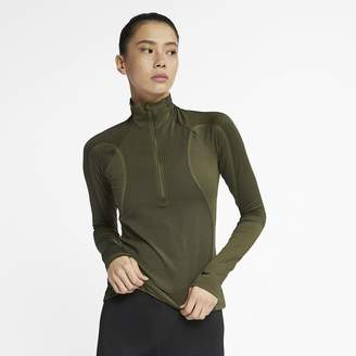 Nike Pro HyperWarm Women's 1/2-Zip Top
