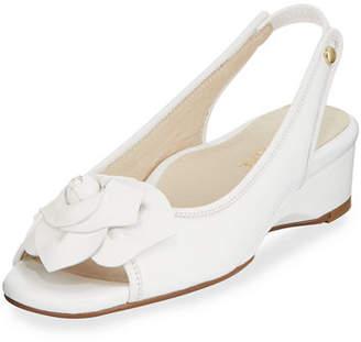 Taryn Rose Karlos Flower Demi-Wedge Sandal