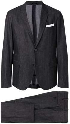 Neil Barrett denim two piece suit
