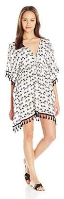 Lucy-Love Lucy Love Women's Kei Lani Cover up Tassel Dress