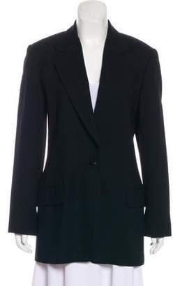 Ellen Tracy Wool Structured Blazer