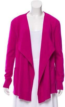 Diane von Furstenberg Wool-Blend Open Front Cardigan