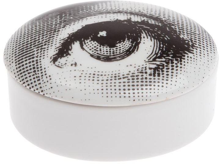 Fornasetti oval china box
