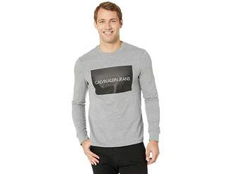 Calvin Klein Jeans Institutional Box Long Sleeve Crew