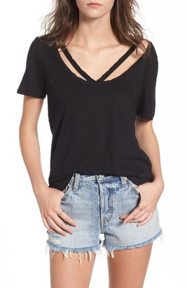 Women's Bp. V-Strap Tee $25 thestylecure.com