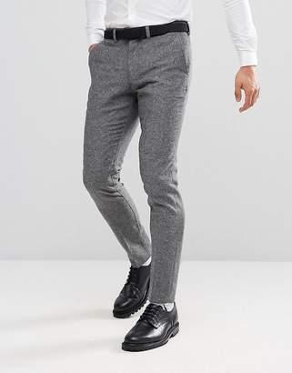 Jack and Jones Slim Tweed Suit PANTS
