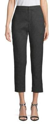 Lanvin Textured Cropped Pants