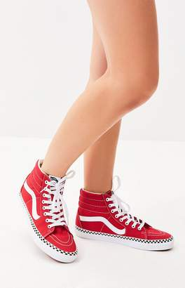 Vans Women's Red Sk8-Hi Sneakers