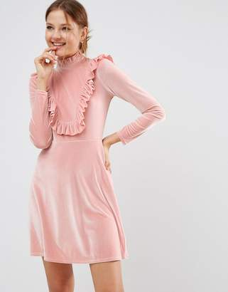ASOS Cutie Pie Velvet Dress $64 thestylecure.com
