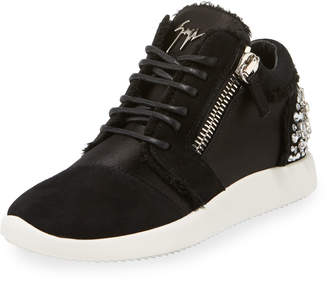 Giuseppe Zanotti Sport Embellished Low-Top Sneakers