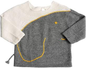Oeuf Elephant Baby Alpaca Knit Sweater