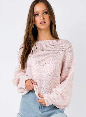 Munich Princess Polly New Women's Knit Jumper Pink