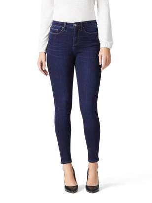 Jeanswest Luxe Lounge 360 High Waisted Skinny 7/8 Jean-Dark Fusion-8