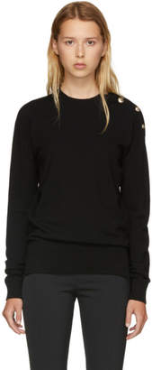 Versus Black Buttons Sweatshirt