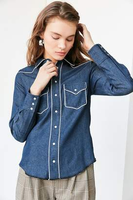 Urban Outfitters Western Button-Down Shirt