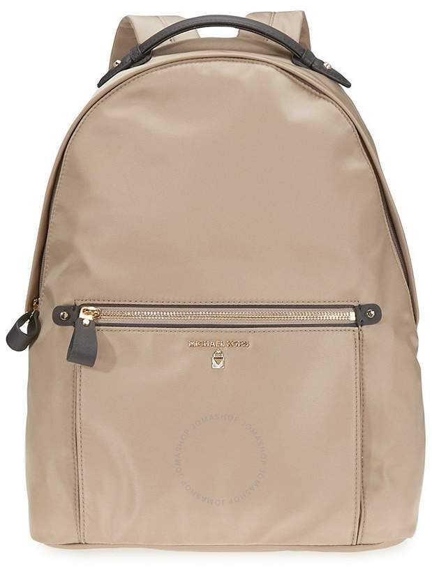 Michael Kors Kelsey Large Nylon Backpack- Truffle - ONE COLOR - STYLE