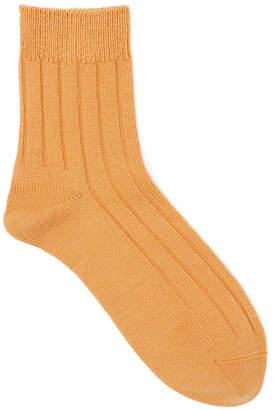 Tabio Wide Ribbed Short Socks