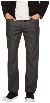 Agave Denim Classic Straight Coco Melange Twill in Black Sea Men's Clothing