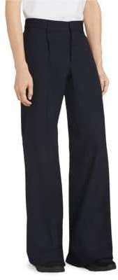Burberry Wool Flare Pants