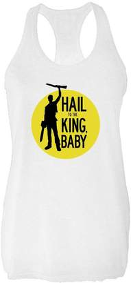 King Baby Studio Pop Threads Hail to The King, Baby XL Womens Tank Top