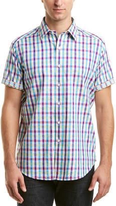 Robert Graham Gammom Classic Fit S/S Woven Shirt