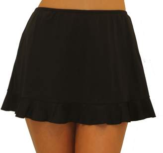 Fit 4 U Fit 4 Ur Hips Solid Skirt with Flounce - Missy