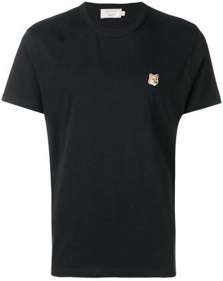 MAISON KITSUNÉ Fox patch T-shirt