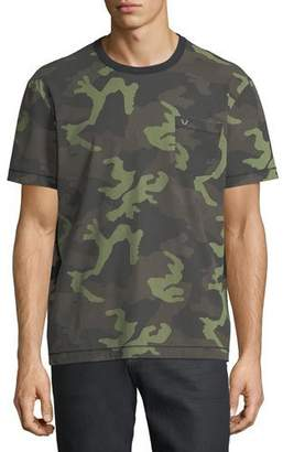 True Religion Loose-Fit Camouflage-Print T-Shirt