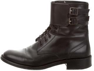 Saint LaurentSaint Laurent Buckled Ankle Boots