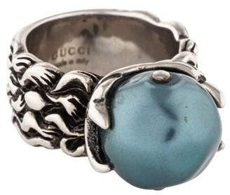 Gucci Faux Pearl Cocktail Ring