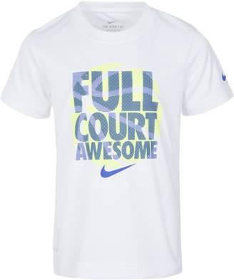 """Nike Boys 4-7 Full Court Awesome"""" Graphic Tee"""
