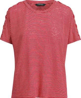 Ralph Lauren Lace-Up-Placket T-Shirt