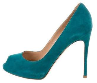 Gianvito Rossi Peep-Toe Platform Pumps