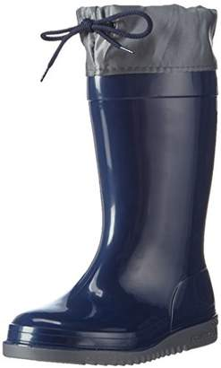 Romika Unisex Kids' Bobby Unlined Rubber Boots Half Shaft Boots & Bootees Blue Size: 10 Child UK