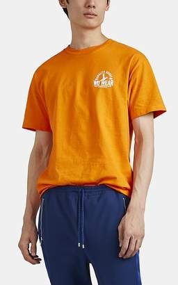 "Wu Wear Men's ""Quality Goods"" Cotton T-Shirt - Orange"