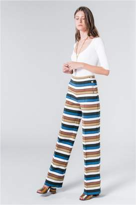 Sonia Rykiel Striped Knit Trousers